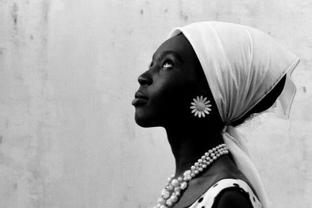 "Mbissine Thérèse Diop stars in Ousmane Sembene's ""Black Girl,"" which screens Sunday at the Museum of Fine Arts, Houston."