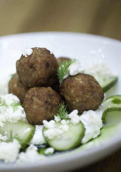 Chicken Meatballs from The Monterey Photo: Robin Jerstad /For The Express-News / SAN ANTONIO EXPRESS-NEWS