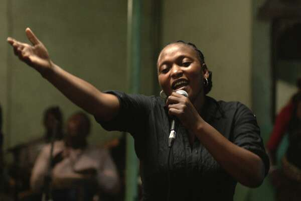 "The Berling Film Festival's grand jury prize went to ""Félicité,"" a portrait of a singer who must learn to depend on people she once looked down on."