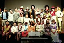 "Cabaret Showcase's cast of ""Tom Sawyer."""