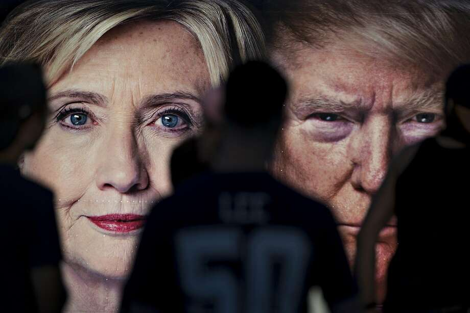 Voters living in 85 percent of the country preferred Donald Trump, but he lost the popular vote to Hillary Clinton. Photo: Andrew Harrer, Bloomberg