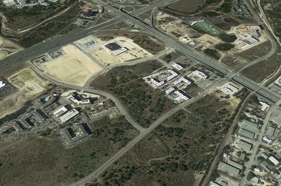 Casey Development is under contract to buy 14 acres near the crossing of Interstate 10 and Loop 1604. Photo: Google Earth