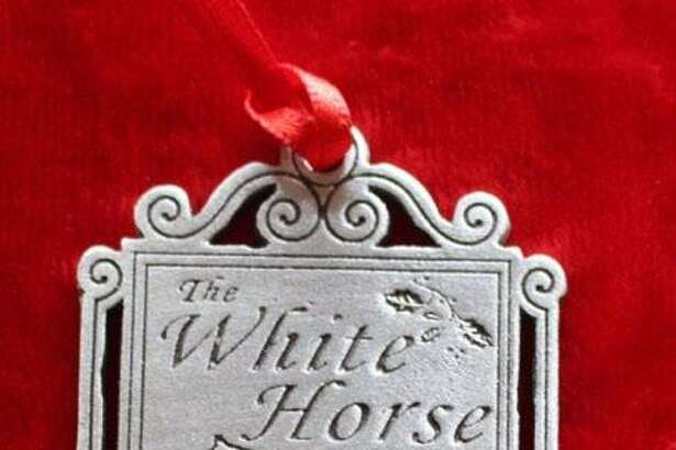 The White Horse Country Pub & Restaurant in New Preston recently sold a special ornament and donated the proceeds to the Connecticut Food Bank.