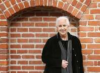 Grace is photographed utside the gallery. Grace Slick appeared at Argonaut Hotel on Fisherman's Wharf where there was a gallery showing of her paintings. Photographed in San Francisco on 4/7/07. Deanne Fitzmaurice / The Chronicle