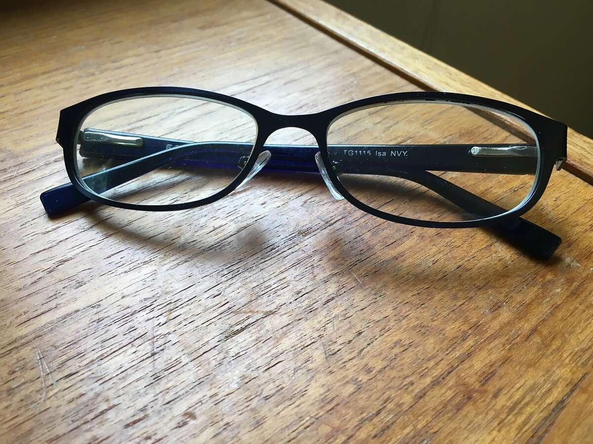 Vanessa Hua's reading glasses.