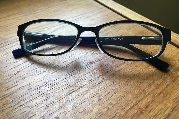 Vanessa Hua's reading glasses.