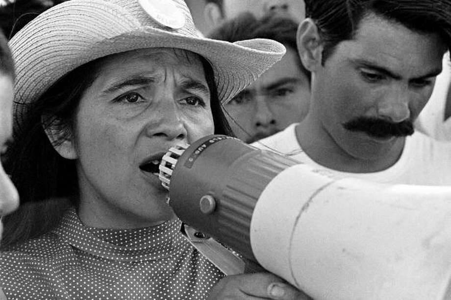 "The documentary ""Dolores"" is coming to CineFestival from the Sundance Film Festival, where it premiered. Photo: Courtesy Guadalupe Cultural Arts Center / © 1976 George Ballis/Take Stock / The Image Works"