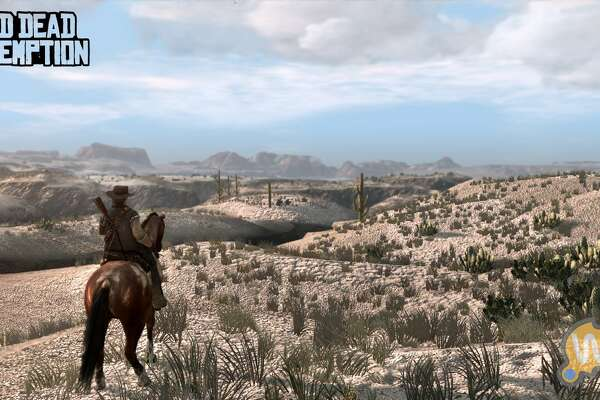 Red Dead Redemption kicks off the 15 million sellers club. The best way to describe it is Grand Theft Auto in the Wild West. Grand Theft Stagecoach?