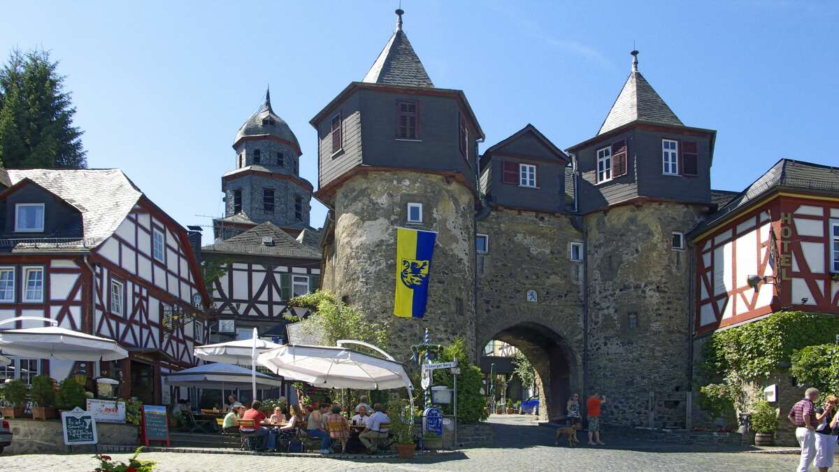 Braunfels, Germany The old Braunfels, over 760 years old, is a typical German town with Prince Carl of Solms-Braunfels' family castle, homes, and shops making up the landscape. It escaped World War II relatively unscathed so it looks quite similar to how it did when Carl was alive.