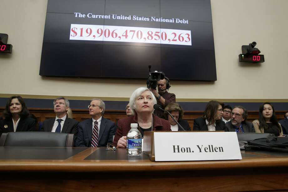 """FILE - In this Feb. 15, 2017 file photo, Federal Reserve Chair Janet Yellen testifies on Capitol Hill in Washington before the House Financial Services Committee for the Fed's semi-annual Monetary Policy Report to Congress.  Federal Reserve officials earlier this month discussed the need to raise a key interest rate again """"fairly soon,"""" especially if the economy remains strong. Minutes of the discussions in minutes released Wednesday, Feb. 22  showed that while Fed officials decided to keep a key rate unchanged at their Jan. 31-Feb. 1 meeting, there was growing concern about what could happen to inflation if the economy out-performed expectations.  Photo: J. Scott Applewhite, Associated Press"""
