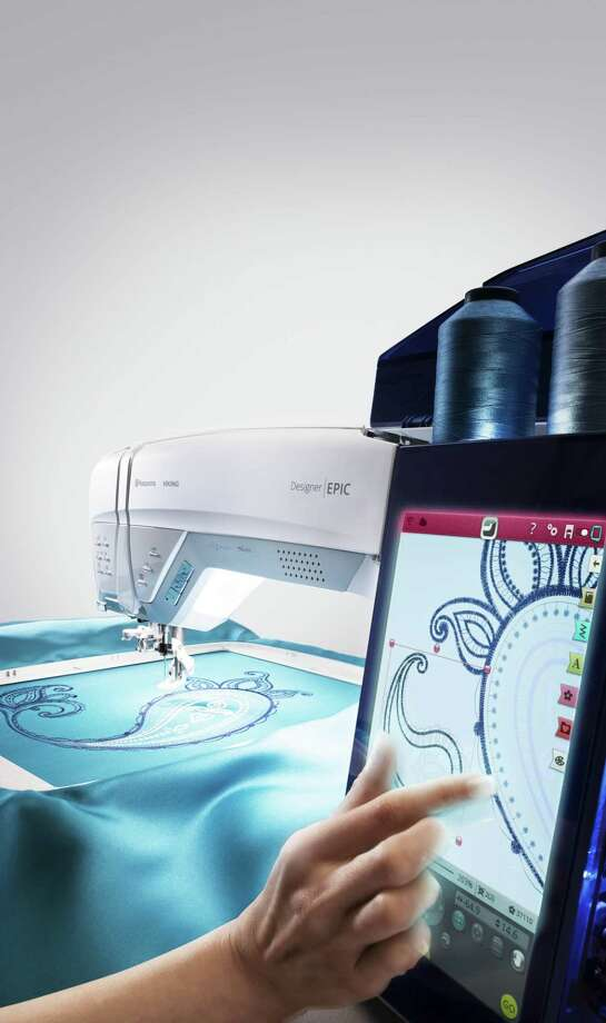 The Husqvarna/Viking Designer Epic is the latest in the growing supply of combination sewing, quilting and embroidery machines that surpass practically every other combination machine that came before it. Photo: Contributed Photo / Hasselblad H4D