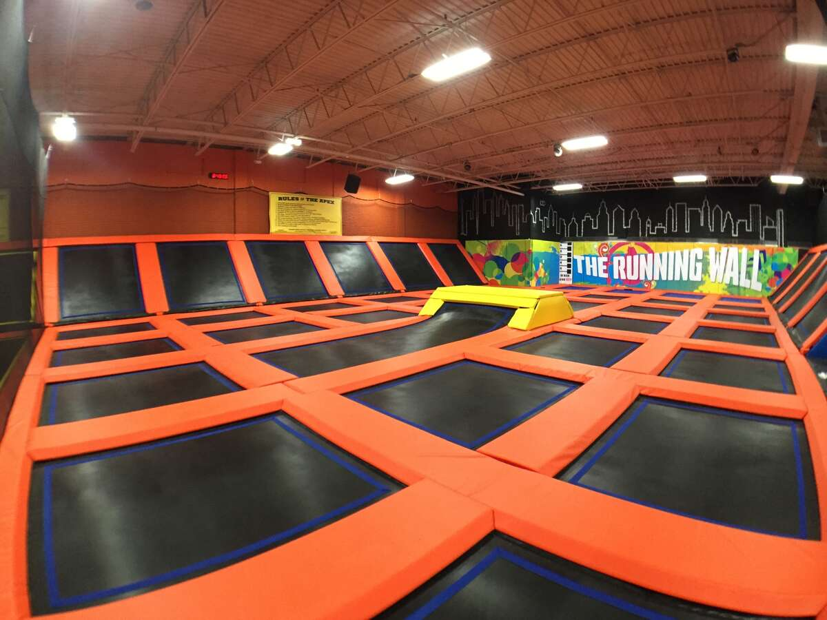 Flip/jumping competition at an indoor trampoline park Houston has plenty of options for couples to fly high at, from Jumping World Houston to Urban Air Trampoline & Adventure Park in Pearland. Check out the closest one by you here.