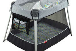 Fisher-Price Ultra-Lite Day and Night Play Yard $87BUY NOW This portable play yard is perfect for traveling with newborns - whether on vacation or taking a day trip to Grandma's house. You can rest your baby in the top sleeper, or remove it so your little one can have more space to move around. The mesh windowsmakeit easy for your baby to not lose sight of you.