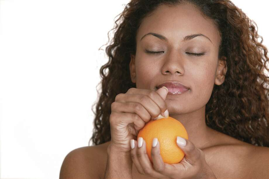 """Some Redditors have used the word """"transcendent"""" to describe the experience of eating an orange in the shower. Photo: Comstock, Getty Images"""