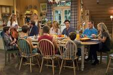 """#48. """"Fuller House""""   Smart Rating:  62.01  Premiere:  February 26, 2016  Status:  Renewed  Candace Cameron Bure, Jodie Sweetin and Andrea Barber are among the original """"Full House"""" cast members who have returned to star in this spinoff, """"Fuller House."""" D.J., now widowed and a mother to three sons, finds herself back in her childhood home alongside her sister Stephanie, an aspiring musician, and her lifelong friend Kimmy Gibbler, who is also a single mother. All under one roof, the women experience moments big and small together, including budding romances, holidays, parenting and life's surprises."""