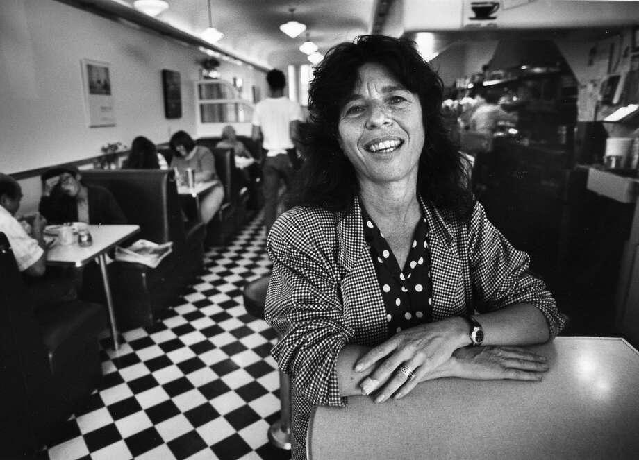 Bette Kroening of Bette's Oceanview Diner in Berkeley in 1991. Photo: Steve Ringman, The Chronicle
