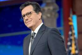 Stephen Colbert. MUST CREDIT: Scott Kowalchyk, CBS