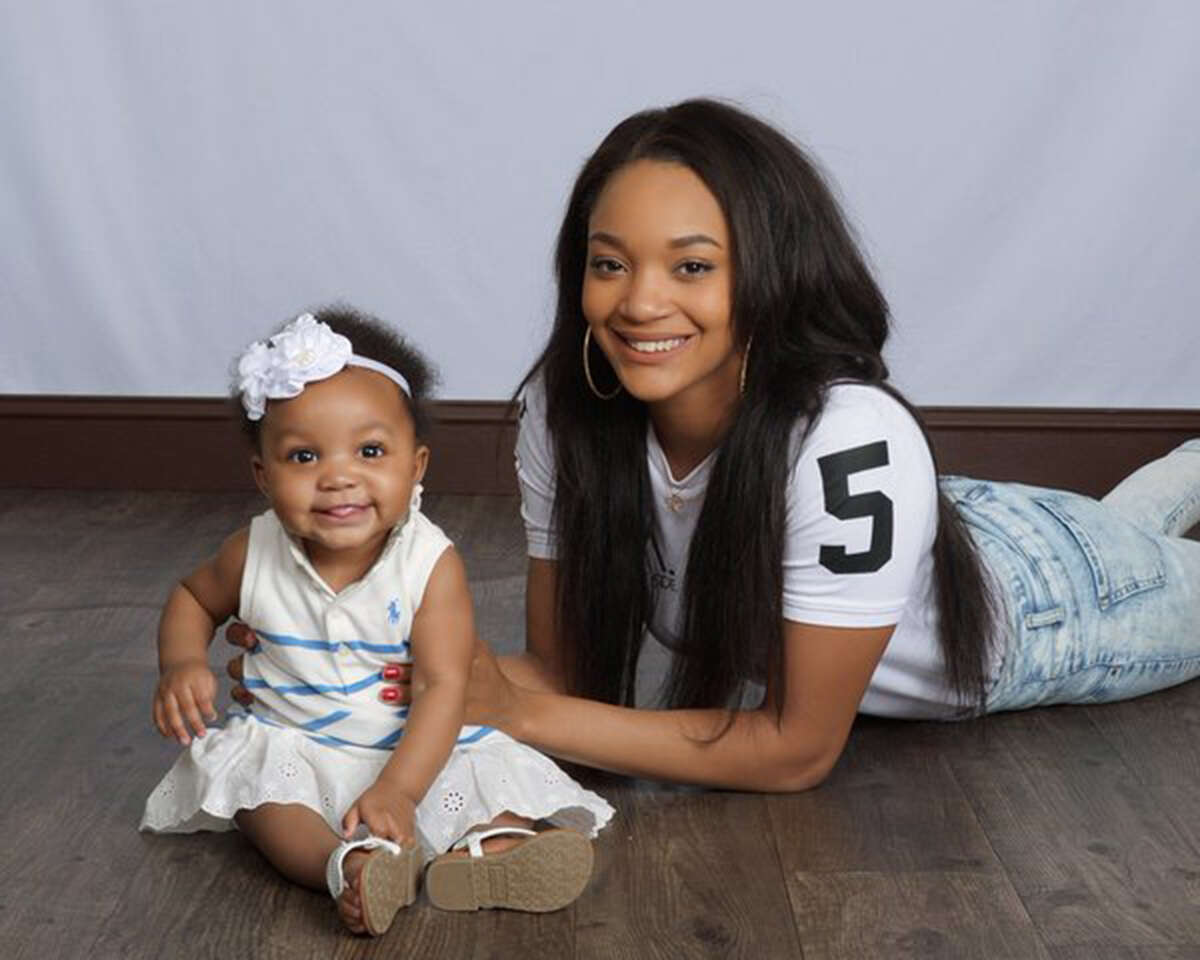 Curtyce Knox hasn't missed a beat as Texas A&M's point guard since having daughter Haven 16 months ago.