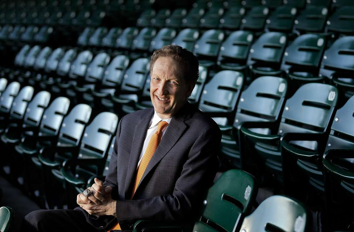 Larry Baer, CEO of the San Francisco Giants, at AT&T Park in San Francisco, Calif., on Wednesday, February 22, 2017.