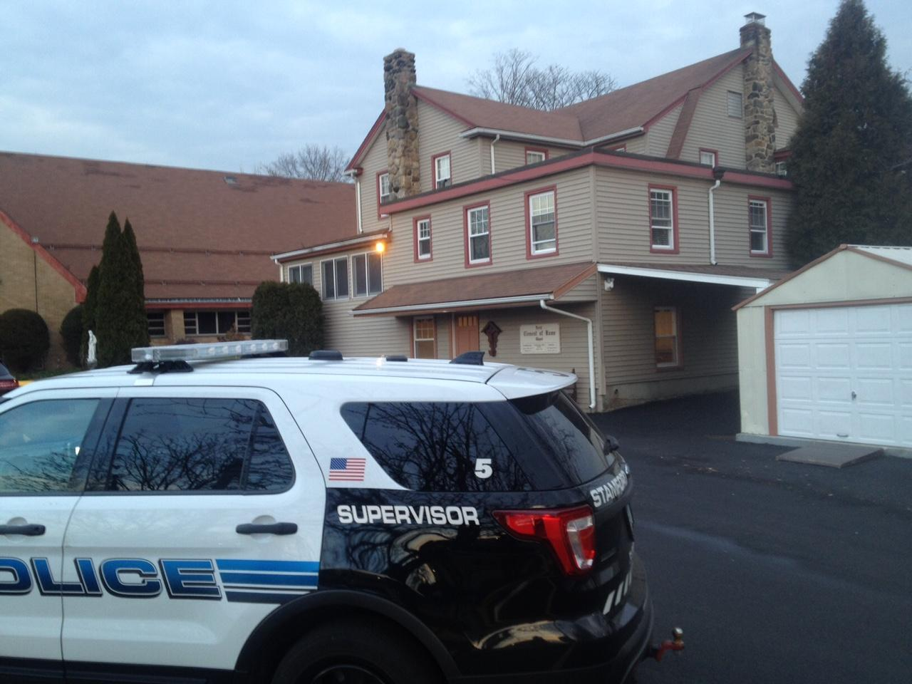 Police: Naked woman high on drugs before Stamford church