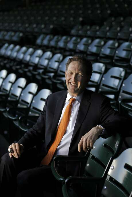 Larry Baer, CEO of the San Francisco Giants, at AT&T Park in San Francisco, Calif., on Wednesday, February 22, 2017. Photo: Carlos Avila Gonzalez, The Chronicle