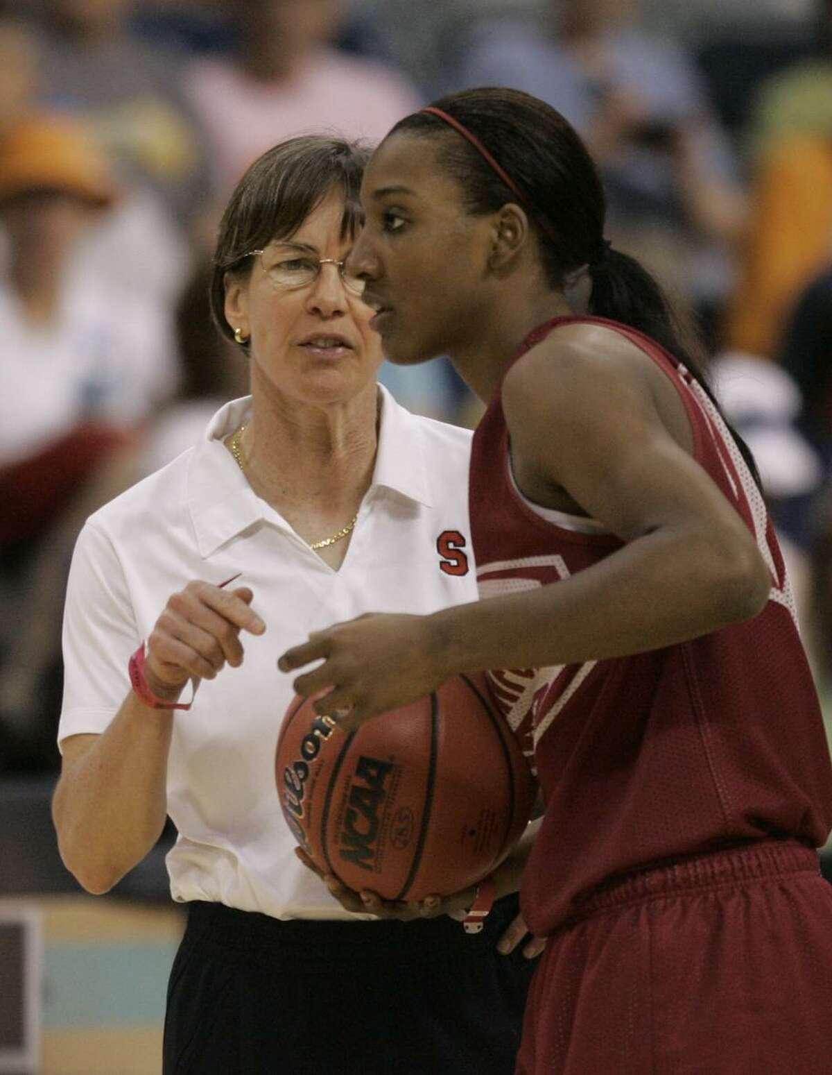 Tara VanDerveer, Candice Wiggins' coach a decade ago, said the ex-Cardinal's assessment of WNBA players' sexual orientation