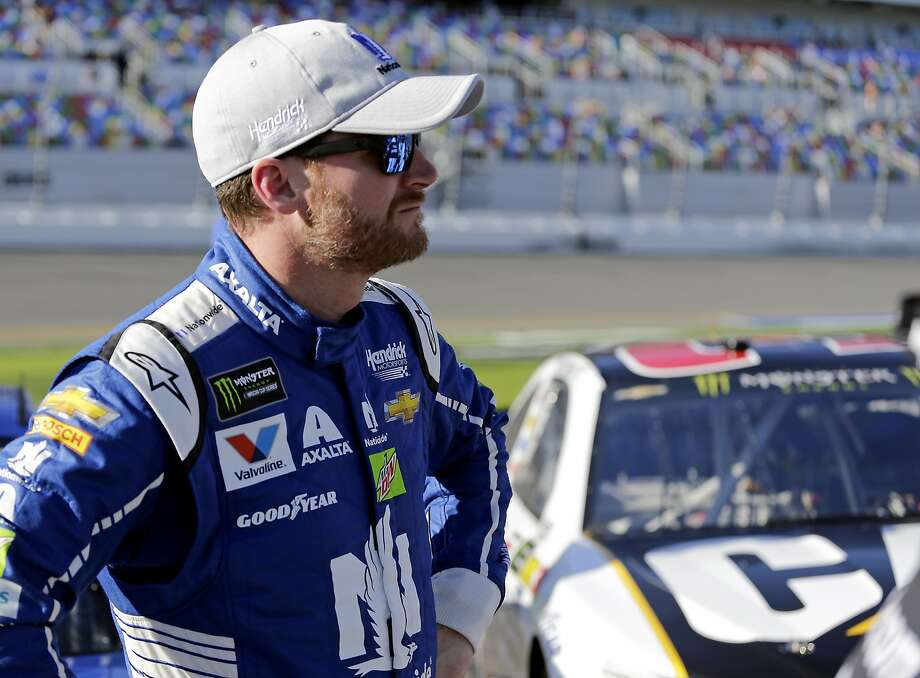 Dale Earnhardt Jr. says his first NASCAR season championship would be his last — he'd quit after that. Photo: Terry Renna, Associated Press