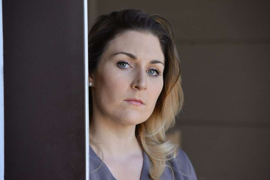 Amanda Berard is a veteran with PTSD who believes that marijuana can be a natural way to cope with anxiety and depression. She's one of the advocates seeking to change Texas law to allow licensed medical practitioners more leeway in recommending cannabis for medical purposes. Photo: Robin Jerstad / For The San Antonio Express News
