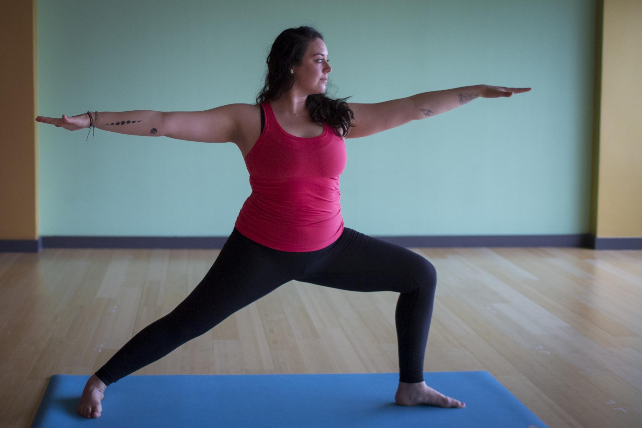Houston Chronicle Yoga Challenge Day Two: Warrior 2 ...