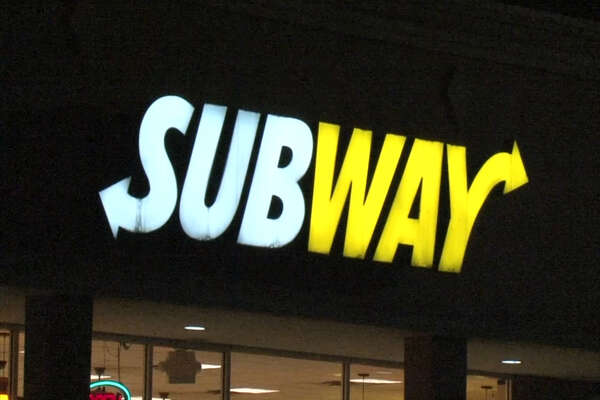 A screenshot of video footage of a Subway restaurant in the 3900 block of Broadway Street in Houston, Texas on Feb. 22, 2017. Late that night, Houston Police said robbers shot and killed an 18-year-old employee at the fast-food eatery.