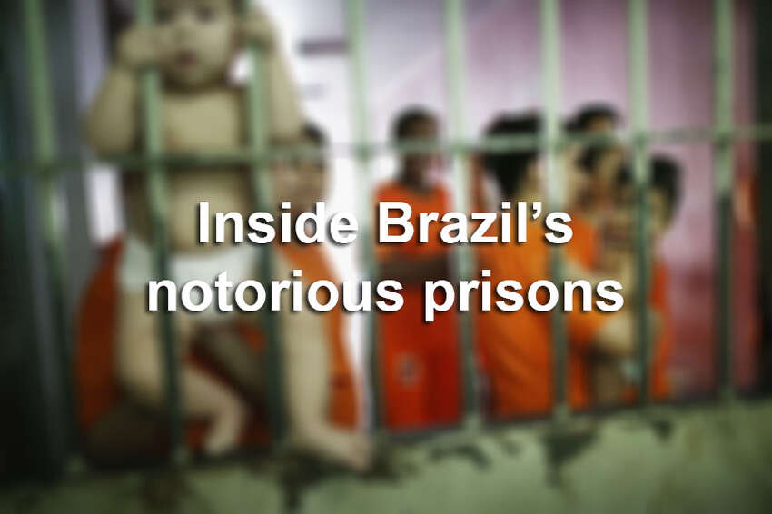 Keep clicking to see the inside of Brazil's notorious prison complex.