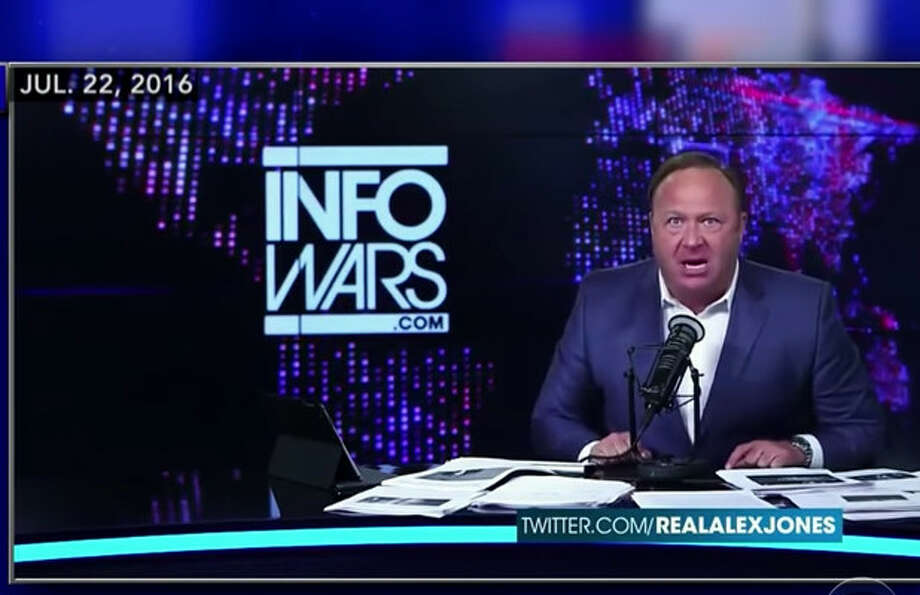 Alex Jones hawks both conspiracy theories and dietary supplements on his Infowars site. But now he faces legal action over lead content that a watchdog group says it found in two of his health drinks.