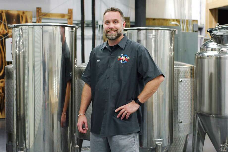 Vallensons' Brewing Co. founder/CEO/brewmaster Valle Kauniste  is preparing to open his brewery in Pearland. Photo: Kirk Sides / © 2017 Kirk Sides / Houston Chronicle