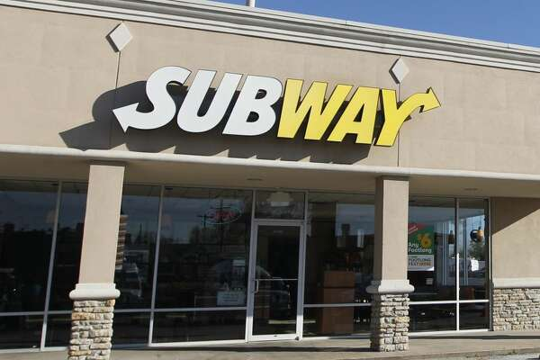 A Subway clerk was killed by two men during a robbery in the 3900 block of Broadway Street around 8 p.m. Wednesday in Houston.  ( J. Patric Schneider / For the Chronicle )