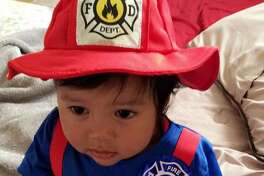 Garcia held a first-responders themed first birthday party for her son Martin in last fall.