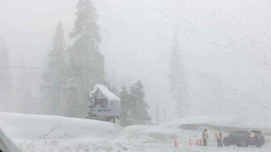 File photo of Sierra-at-Tahoe on Feb. 21, 2017. Photo: Judy Sing