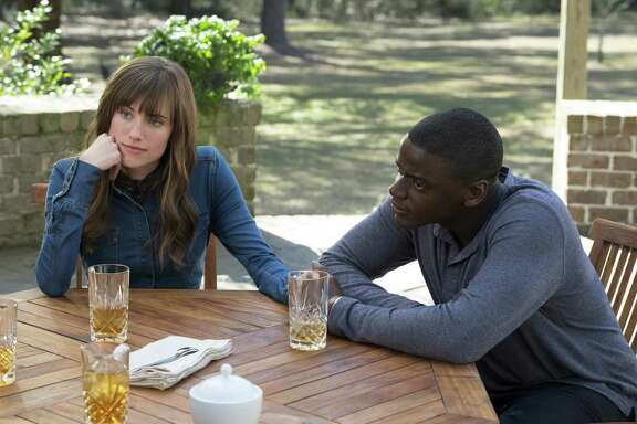 "Allison Williams and Daniel Kaluuya star in writer-director Jordan Peele's first film, ""Get Out."""