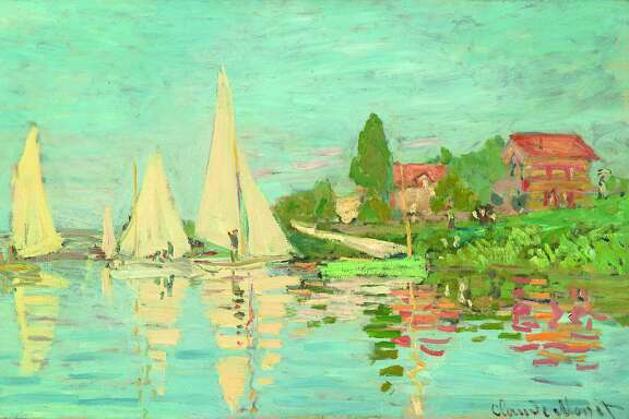 "Claude Monet, ""Regatta at Argenteuil"" (1872)"