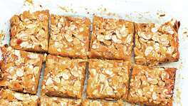 Ginger Almond Bars from author and teacher Patricia Wells demonstrate proper baking technique.
