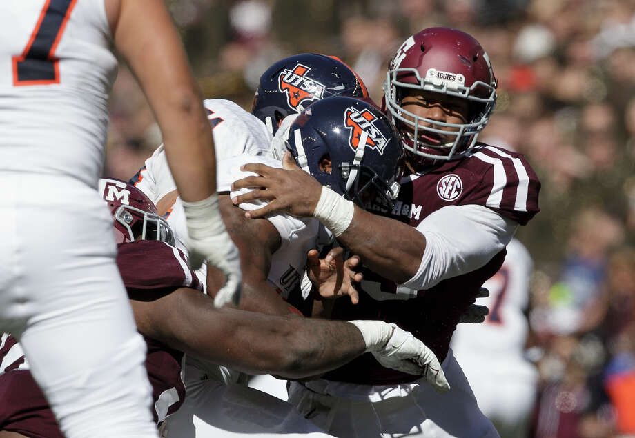1. Cleveland BrownsDE Myles Garrett, Texas A&M Photo: Sam Craft/AP