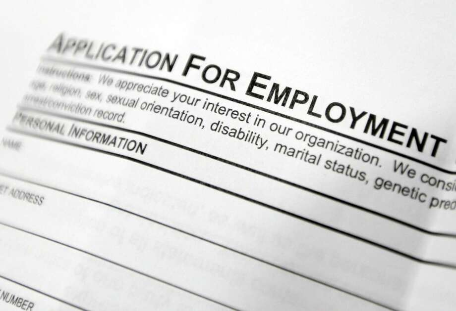 The Labor Department said Thursday that 244,000 Americans applied for jobless aid last week, up by 6,000 from the previous week. Photo: Associated Press /File Photo / Copyright 2016 The Associated Press. All rights reserved. This material may not be published, broadcast, rewritten or redistribu