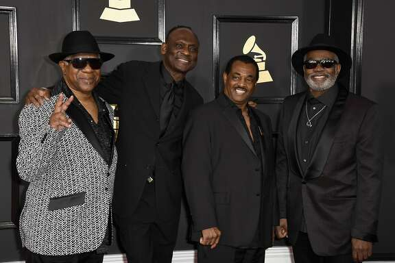 LOS ANGELES, CA - FEBRUARY 12:  Kool and the Gang attends The 59th GRAMMY Awards at STAPLES Center on February 12, 2017 in Los Angeles, California.  (Photo by Frazer Harrison/Getty Images)
