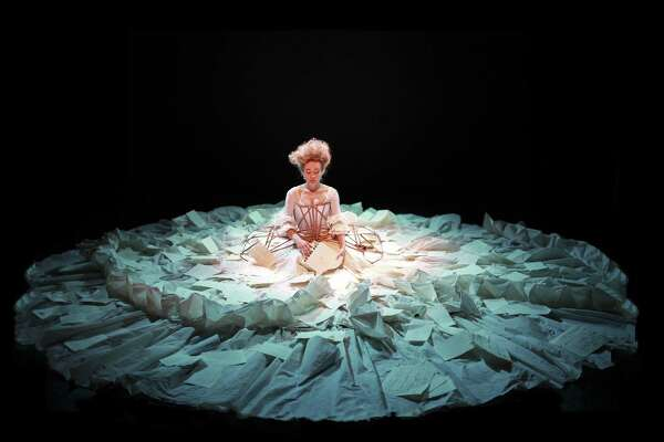 Sylvia Milo in The Other Mozart, photo by Little Matchstick Factory