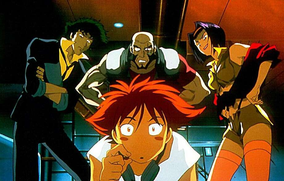 """A scene from the Japanese anime """"Cowboy Bebop: The Movie."""" Photo: HANDOUT, SFC"""