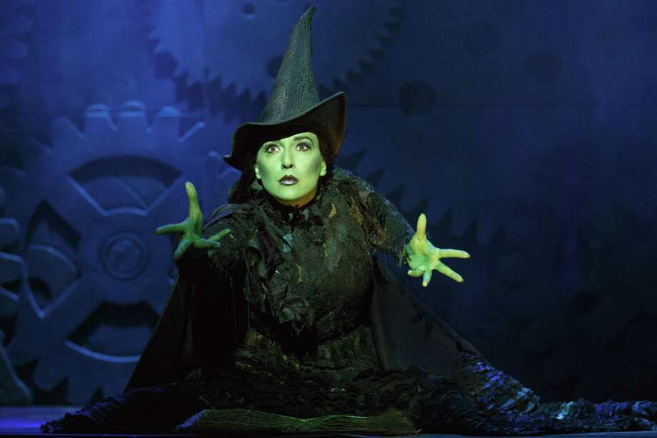 Jessica Vosk as Elphaba 2. Photo by Joan Marcus. Photo: Joan Marcus / ©2016 Joan Marcus