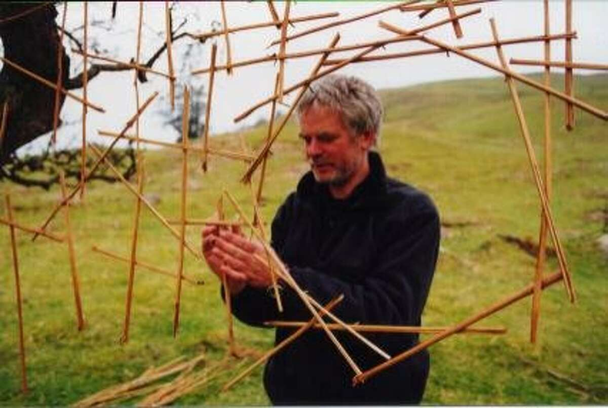 RIVERS02A-C-25JUL02-DD-HO --- The work of acclaimed sculptor Andy Goldsworthy is explored with real understanding and a beautiful simplicity in