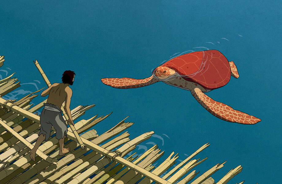 "A castaway is washed up on a desert isle in the Oscar-nominated ""The Red Turtle."" MUST CREDIT: Sony Pictures Classics / @ 2016 Studio Ghibli- Wild Bunch- Why Not Productions- Arte Fran"