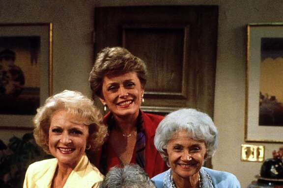 """Golden Girls,"" which premiered in 1985, featured, clockwise from top, Rue McClanahan, Estelle Getty, Beatrice Arthur and Betty White."