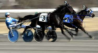 Photos: Harness racing resumes in Saratoga Springs - Times Union
