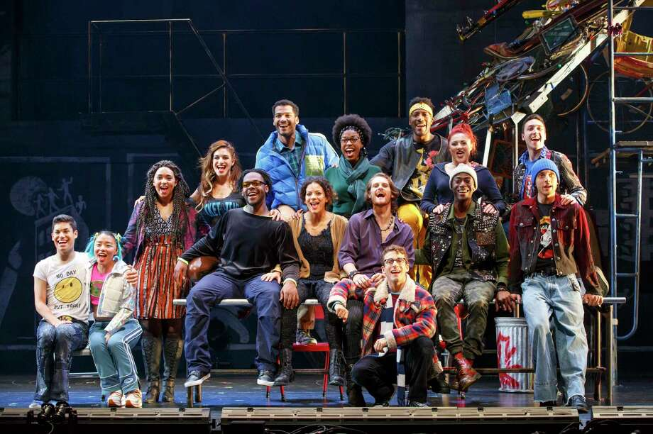 """Rent,"" Jonathan Larson's powerful rock musical about New York artists struggling to pursue their muses while also dealing with poverty and AIDS, is returning to the Majestic Theatre. It's the 20th anniversary tour of the show.Opens Friday. 8 p.m. Friday, 2 and 8 p.m. Saturday and 2 and 7:30 p.m. Sunday. Majestic Theatre, 224 E. Houston St. $35-$136. ticketmaster.com. ($25 rush tickets for 20 seats in the front row will be available at the box office two hours before each performance; sales are cash-only, and there is a limit of two tickets per person. Info, majesticempire.com.)-- Deborah Martin Photo: Courtesy Carol Rosegg"
